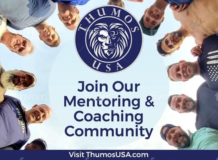 Thumos USA men's mentoring and coaching